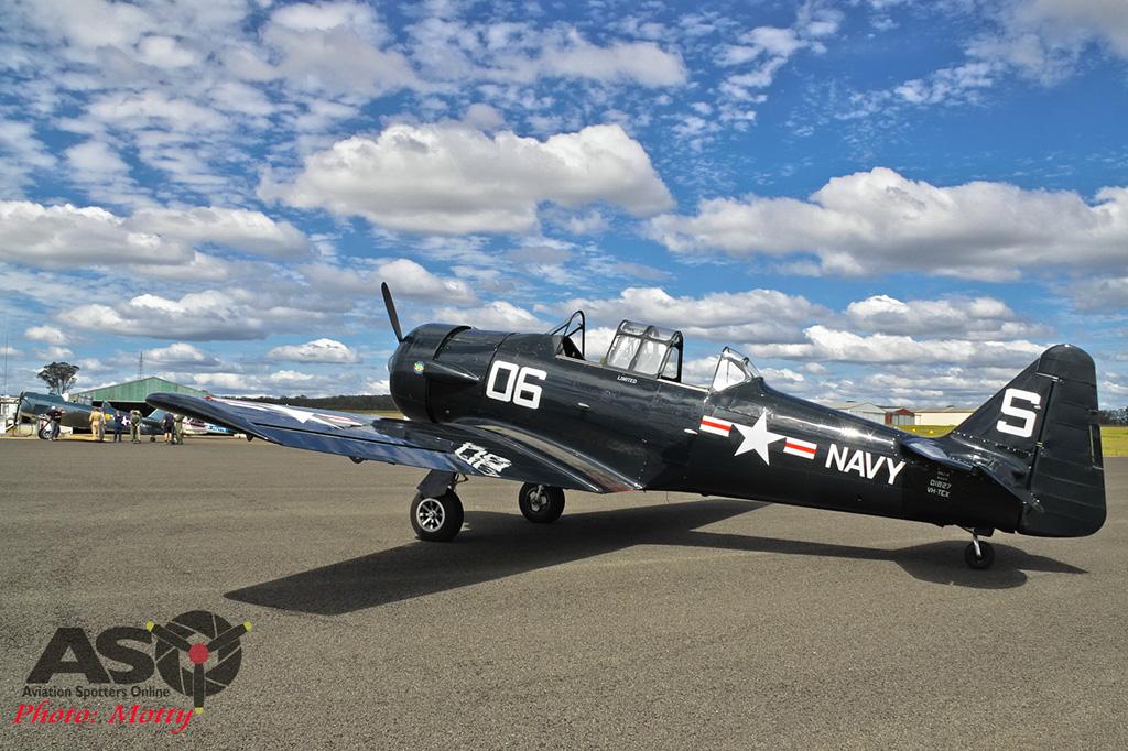 Mottys AWAL Kingaroy 2015 T-6 VH-TEX 0030