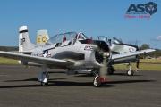 Mottys AWAL Kingaroy 2015 T-28D VH-DPT 0080