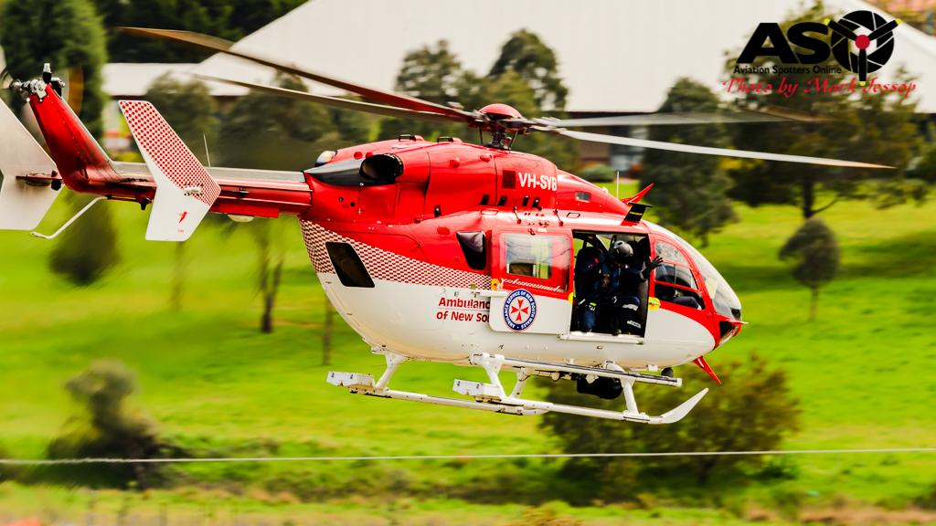 VH-SYB - Eurocopter BK117-C2 NSW Ambulance service.