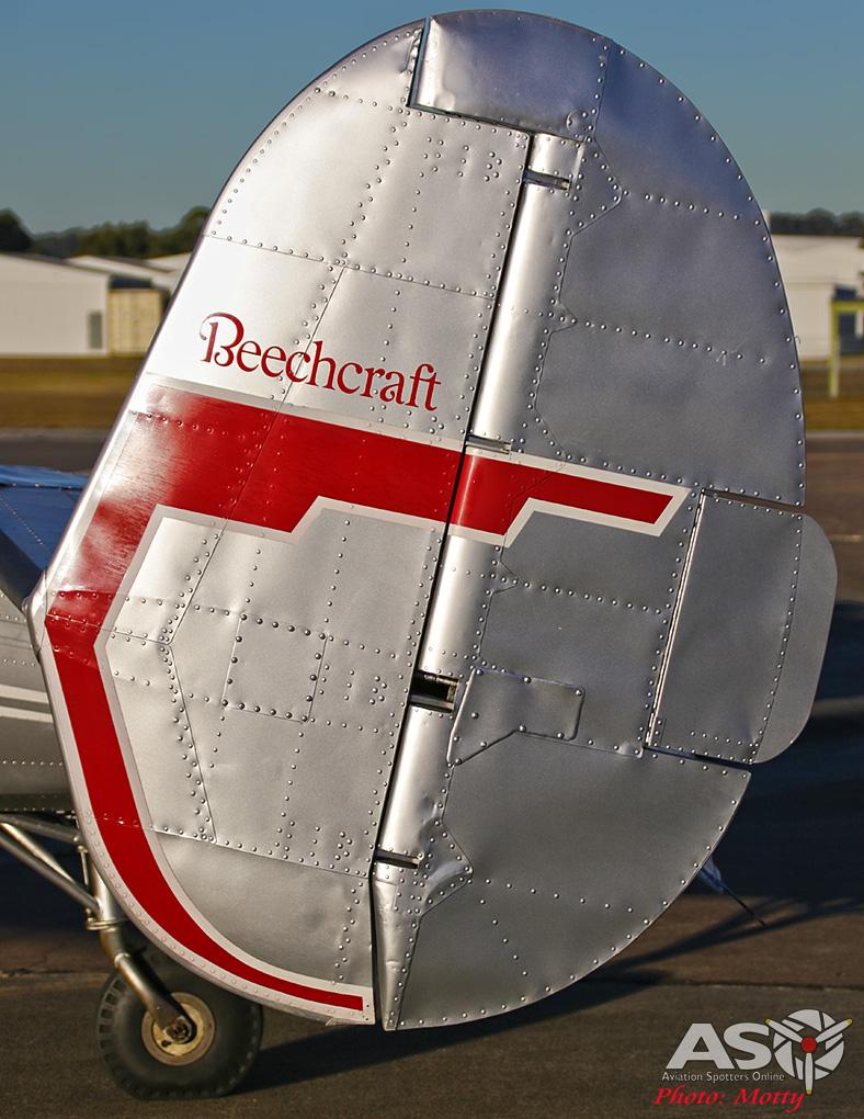 Mottys Beech Adventures Beech-18 VH-BHS 2814 -ASO