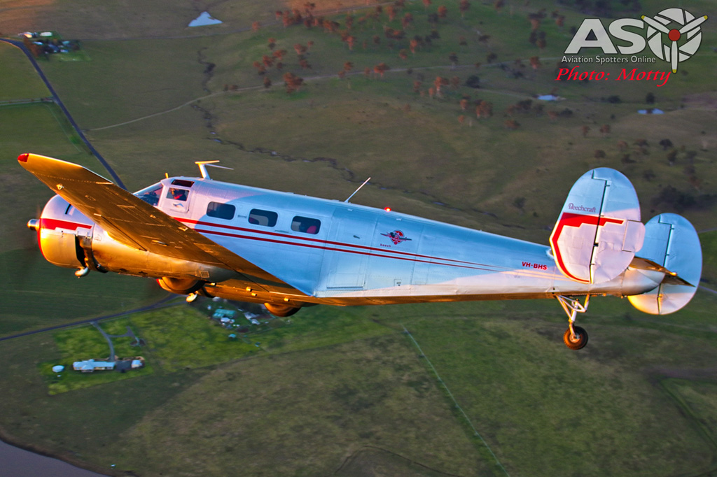 Mottys Beech Adventures Beech-18 VH-BHS 4064 -ASO