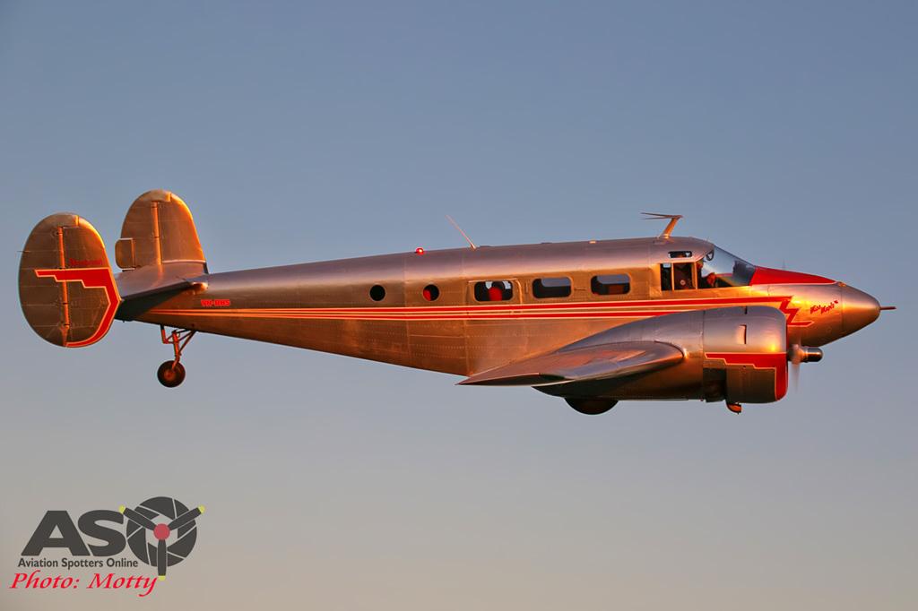 Mottys Beech Adventures Beech-18 VH-BHS 4683 -ASO