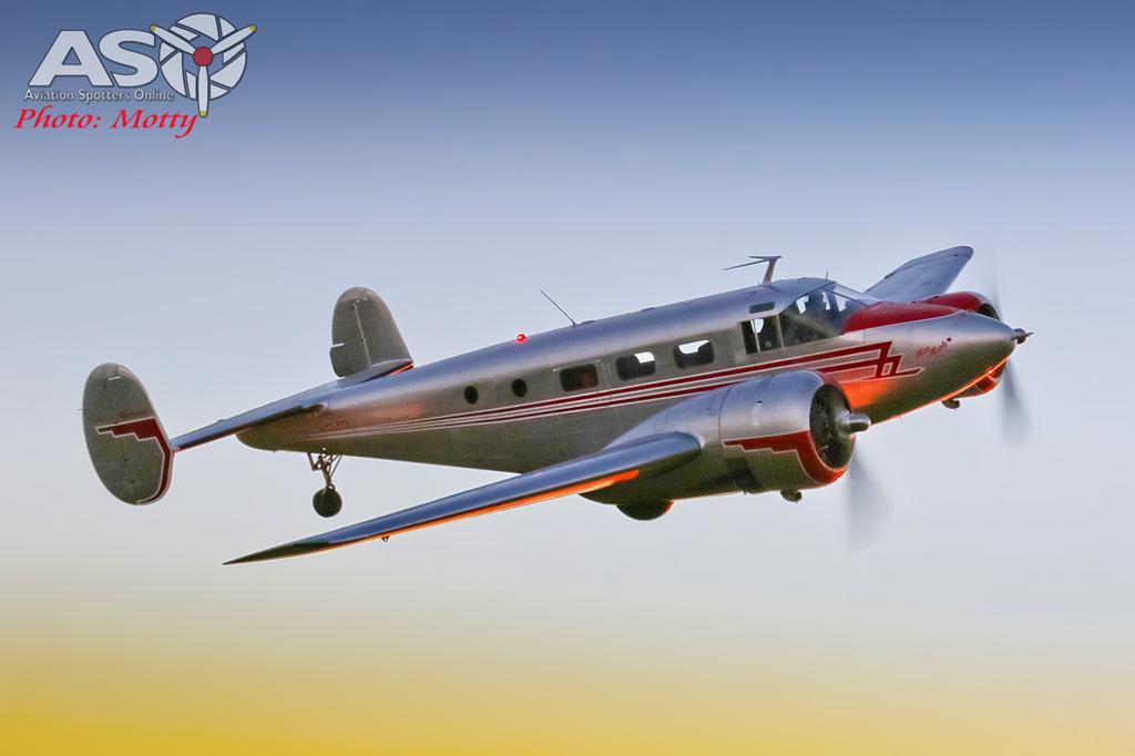 Mottys Beech Adventures Beech-18 VH-BHS 4808 -ASO