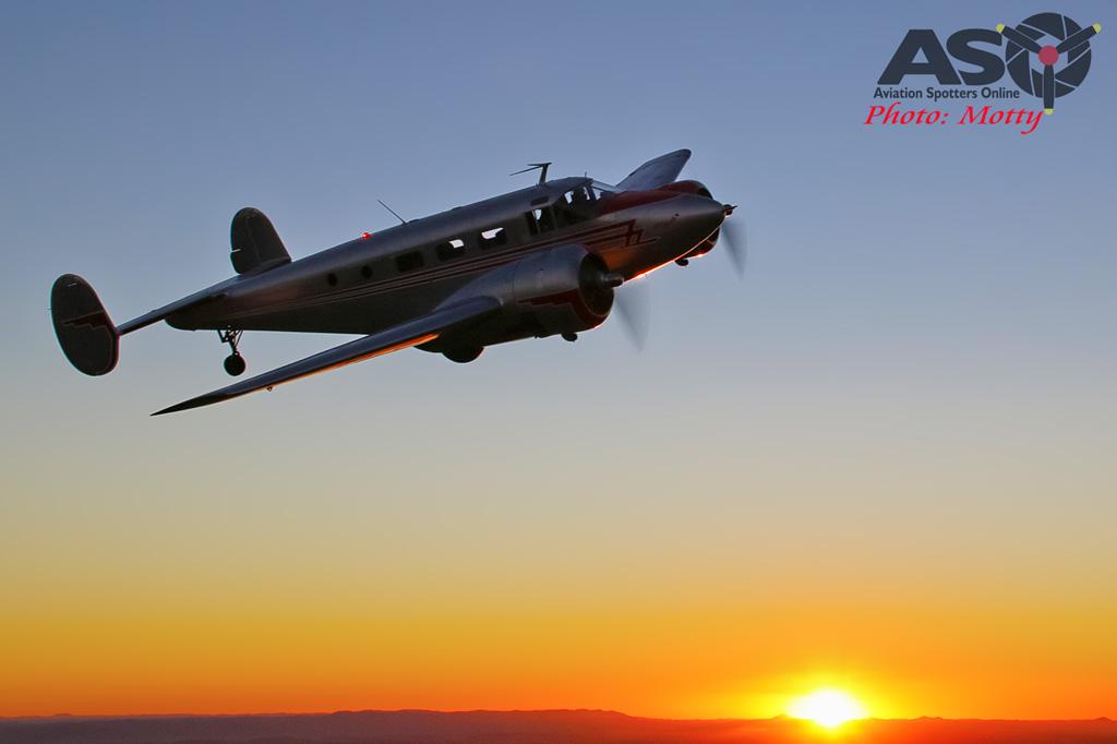 Mottys Beech Adventures Beech-18 VH-BHS 4813 -ASO