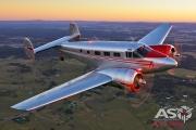 Mottys Beech Adventures Beech-18 VH-BHS 4466-DTLR-1-1-001-ASO