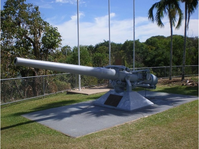 USS Peary monument