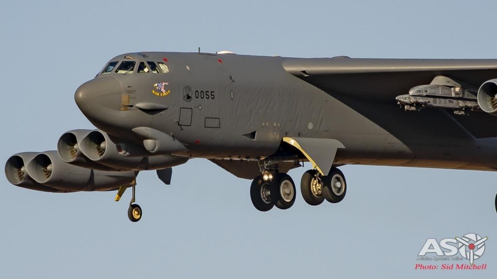 USAF B-52H 60-0055 'War Eagle'