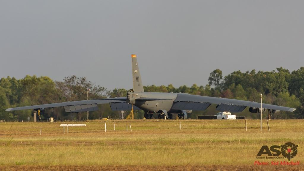 """USAF B52H 60-0004 """"Unforgotten"""""""