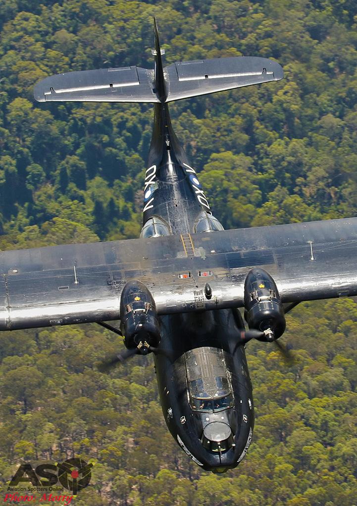 Mottys-HARS Black Catalina Felix VH-PBZ 2511 -001-ASO
