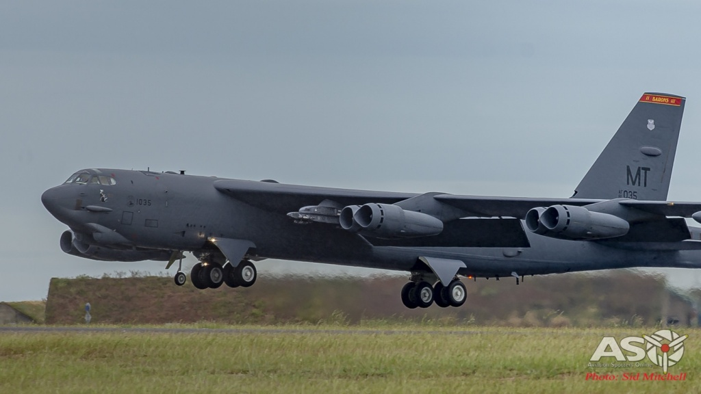 USAF B-52H 61-0035 'Witches Brew'