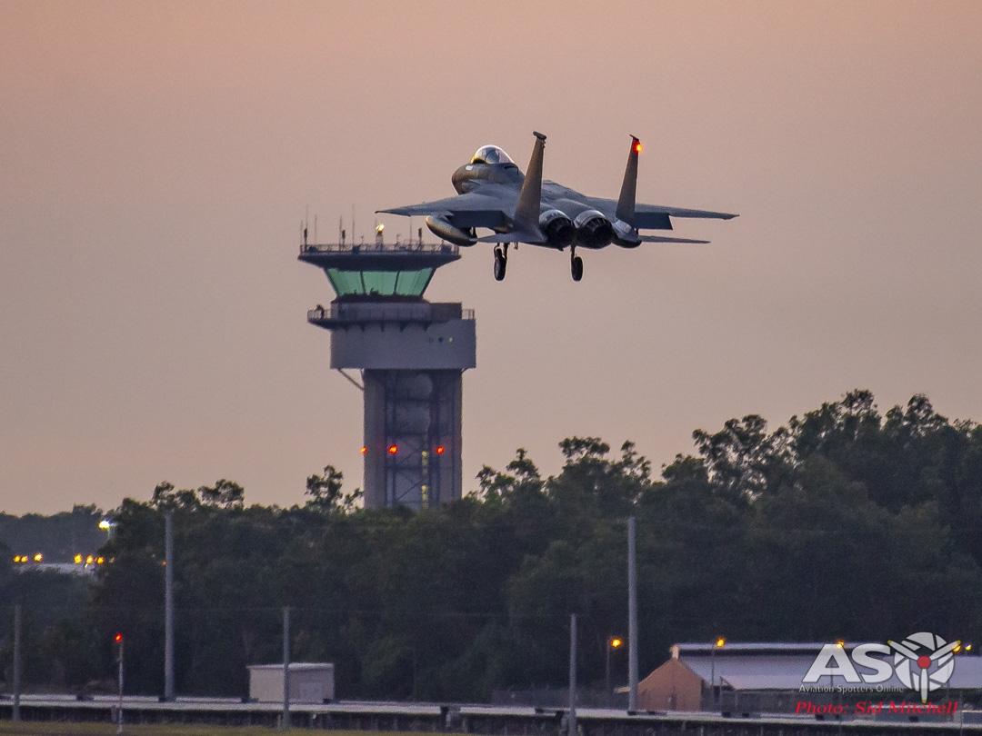F-15C and Darwin Tower