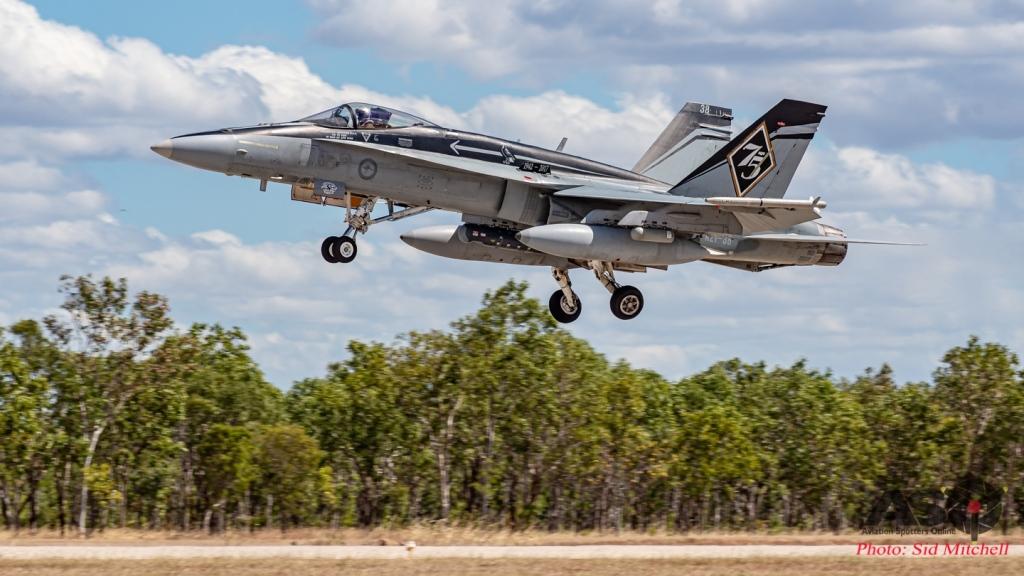 No. 75 Squadron Classic Hornet A21-38