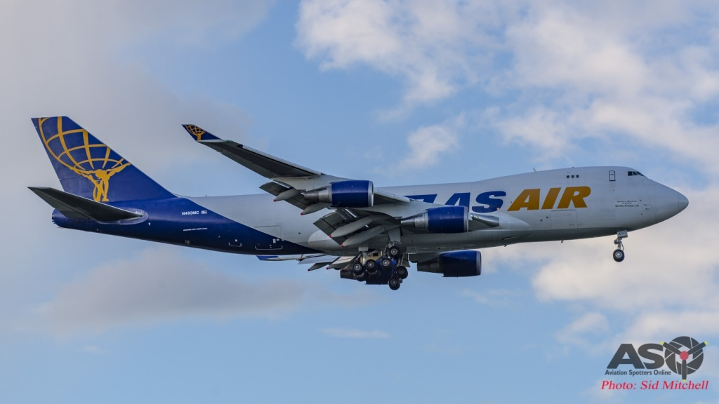 Atlas Air's 747-47U(F), N493MC