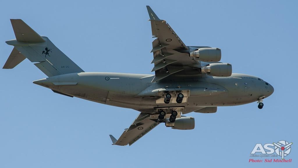 RAAF C-17A Globemaster III