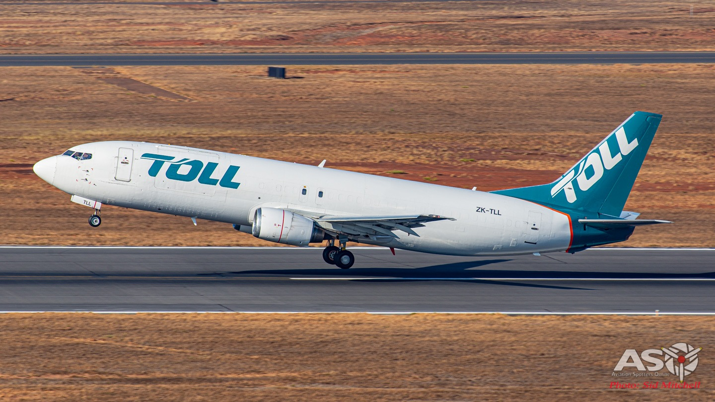 TOLL lifting off