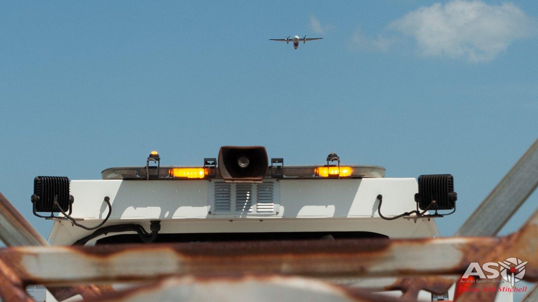 Borderforce departing overhead