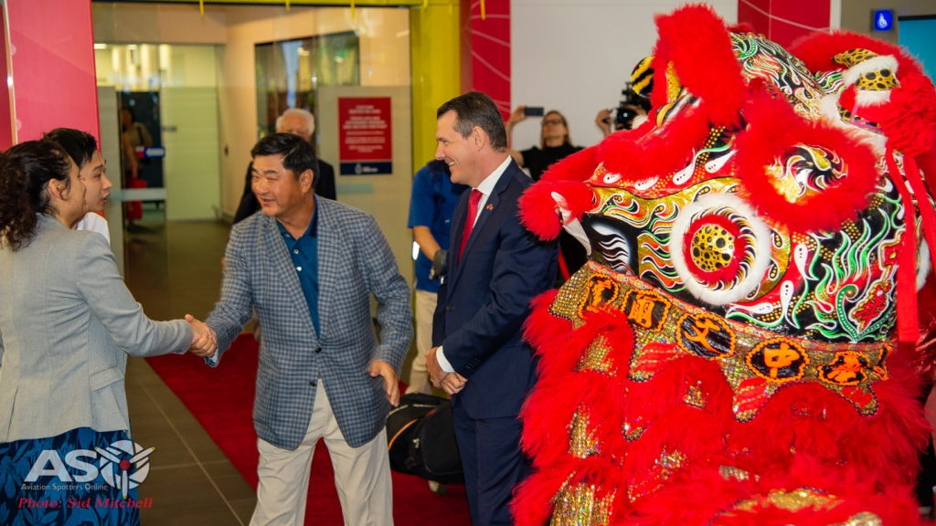 dragon dance and welcome