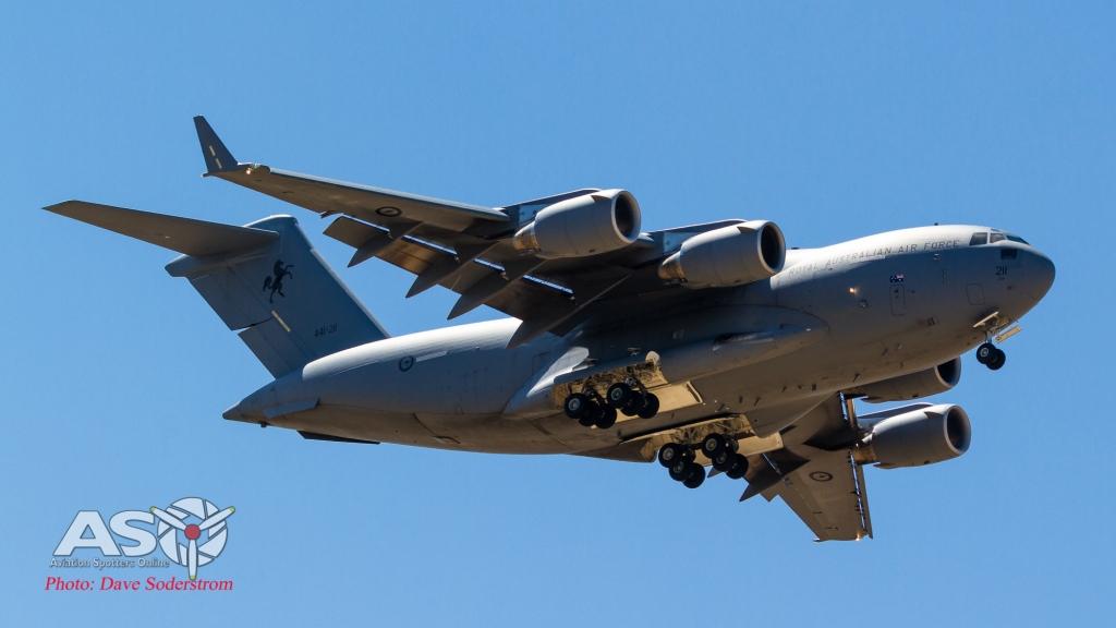 A41-211 RAAF Boeing C-17A ASO (1 of 1)