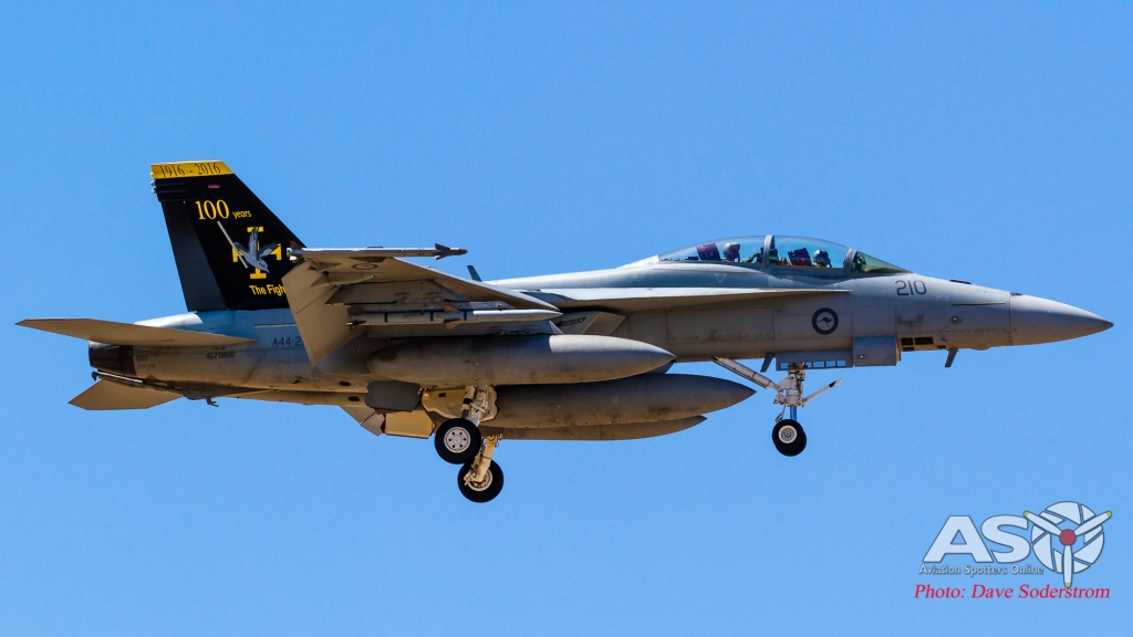 A44-210 RAAF FA-18F Hornet ASO (1 of 1)