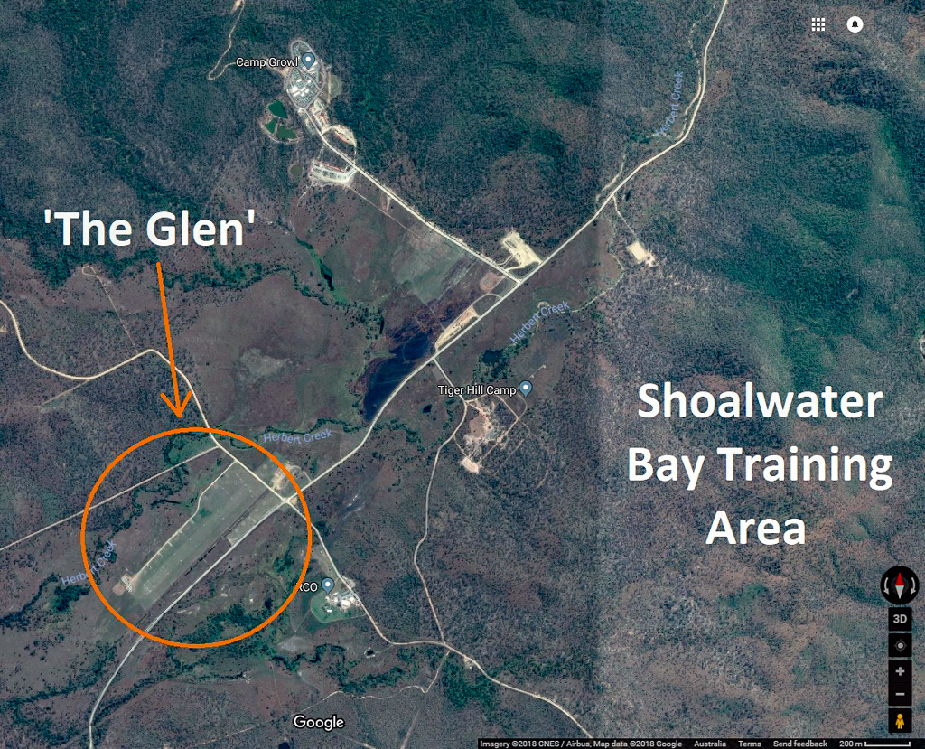 The Glen - Map