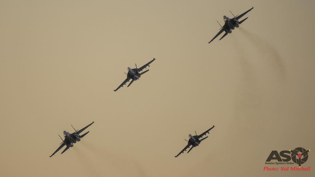 Formation -Hornet/Flanker