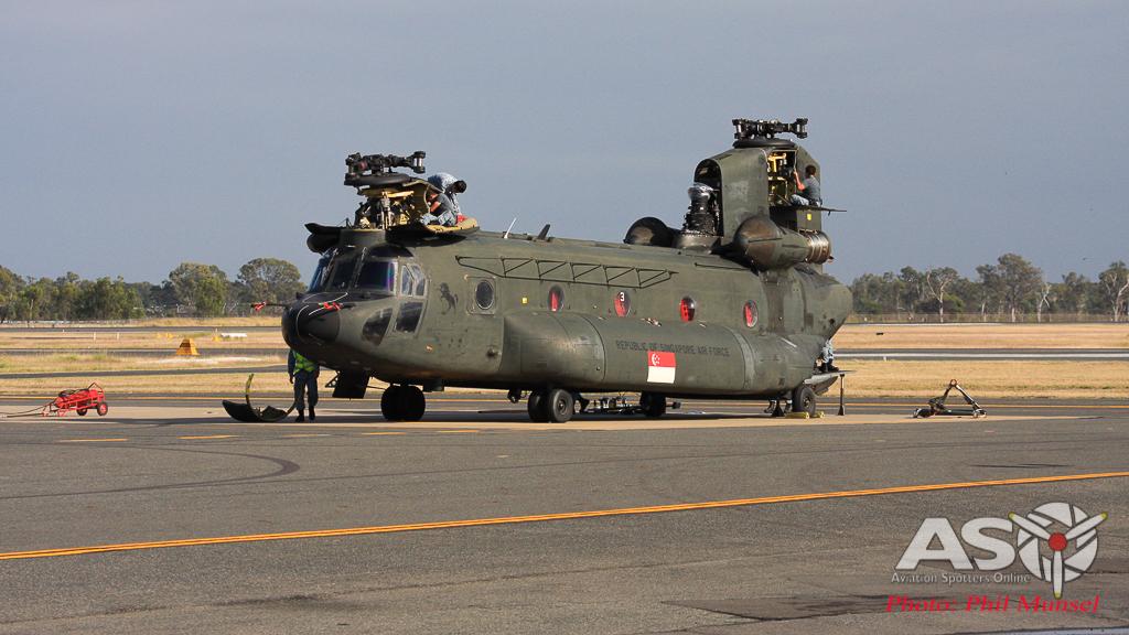 RSAF Boeing CH-47SD Chinook