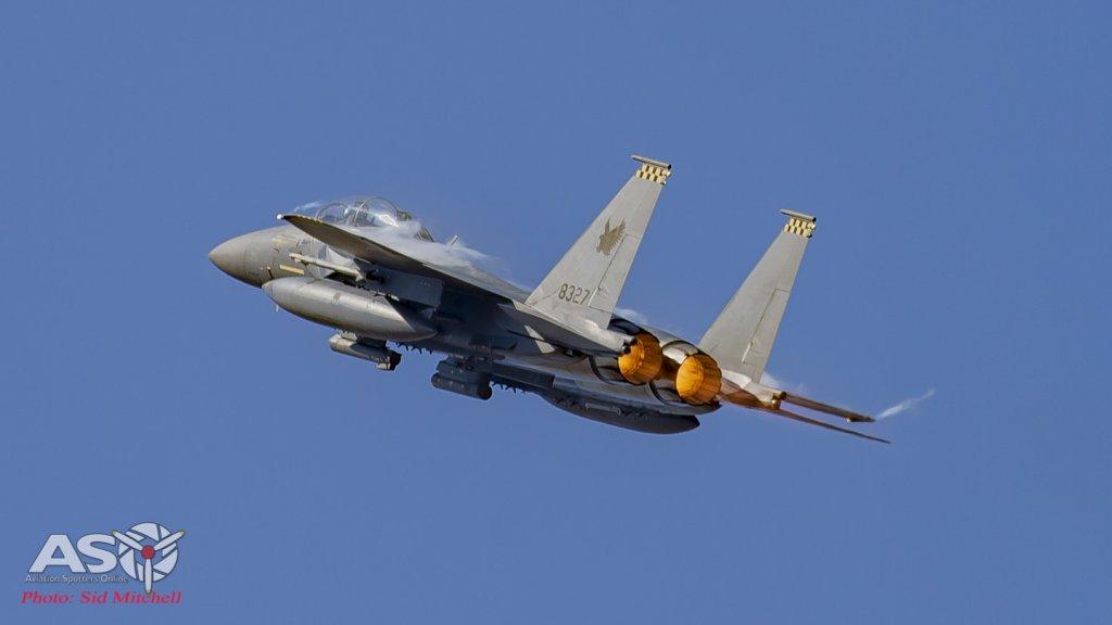 RSAF F-15SG Strike Eagle