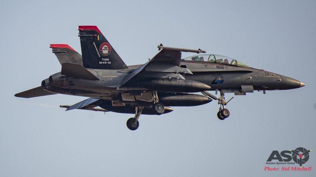 TMAF F-18D Hornet