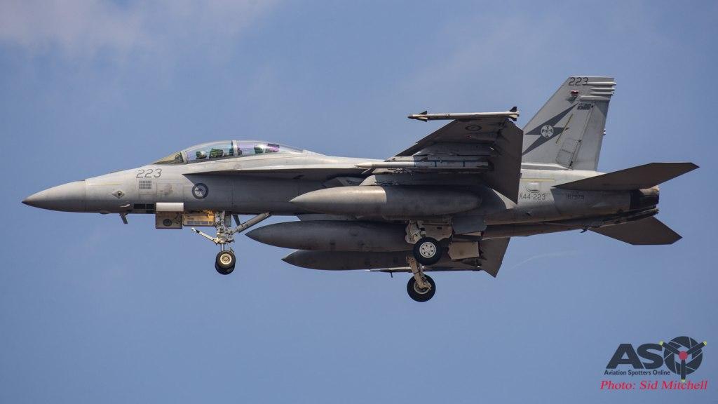 RAAF F/A-18E Super Hornet