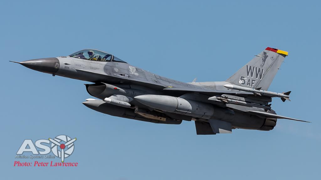"USAF F-16CM ""Wild Weasel"" 14th Fighter Squadron"