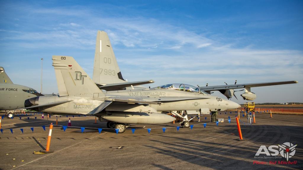 USMC F/A-18D Hornet