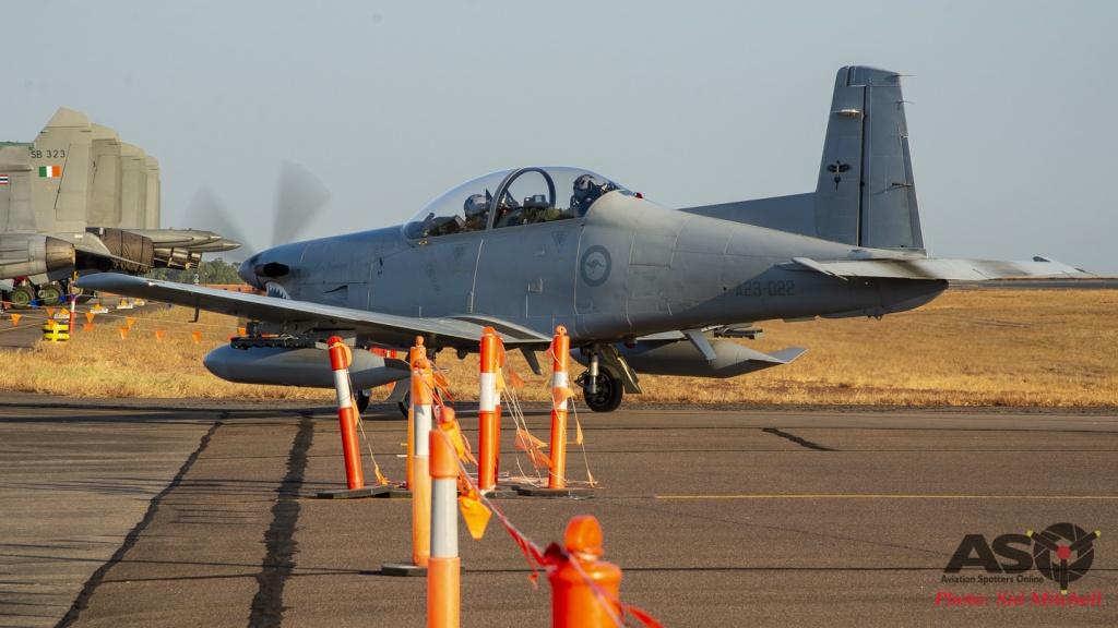 RAAF PC-9A A23-022