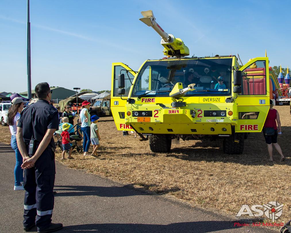 Darwin International Airport ARFF Rosenbauer Fire Tender