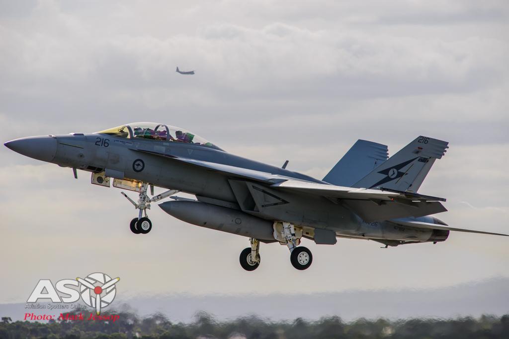 F/A-18F Super Hornet take off