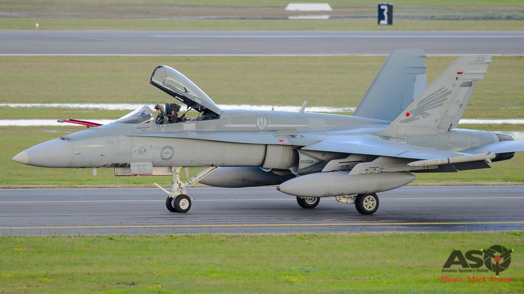 F/A-18A Hornet A21-55 3SQN