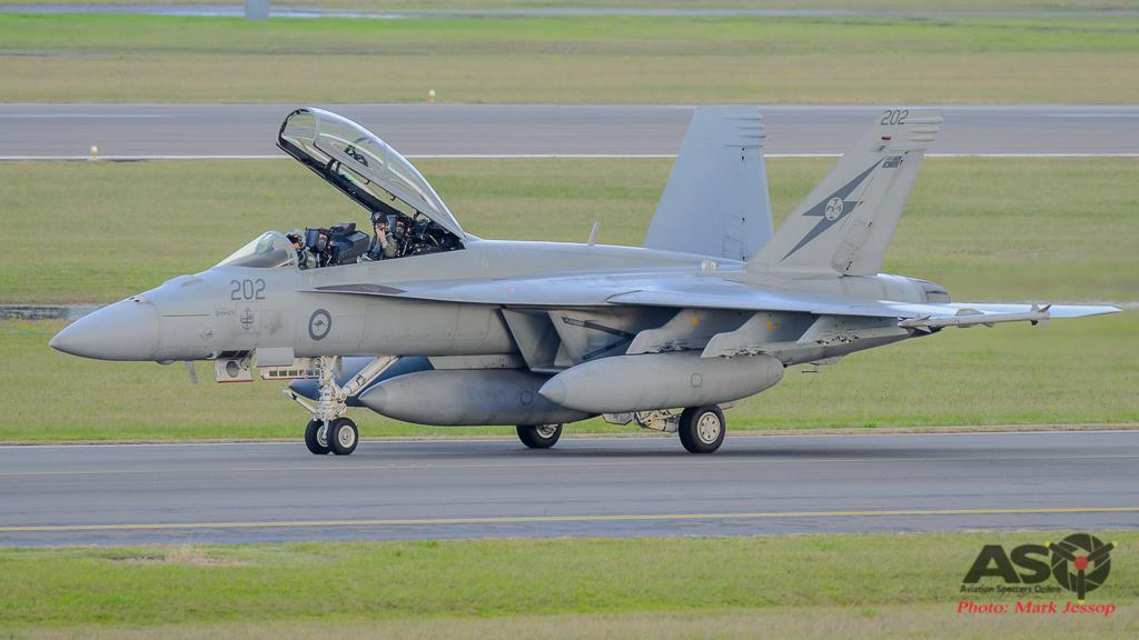 F/A-18F Super Hornet A44-202 1SQN City of Ipswich