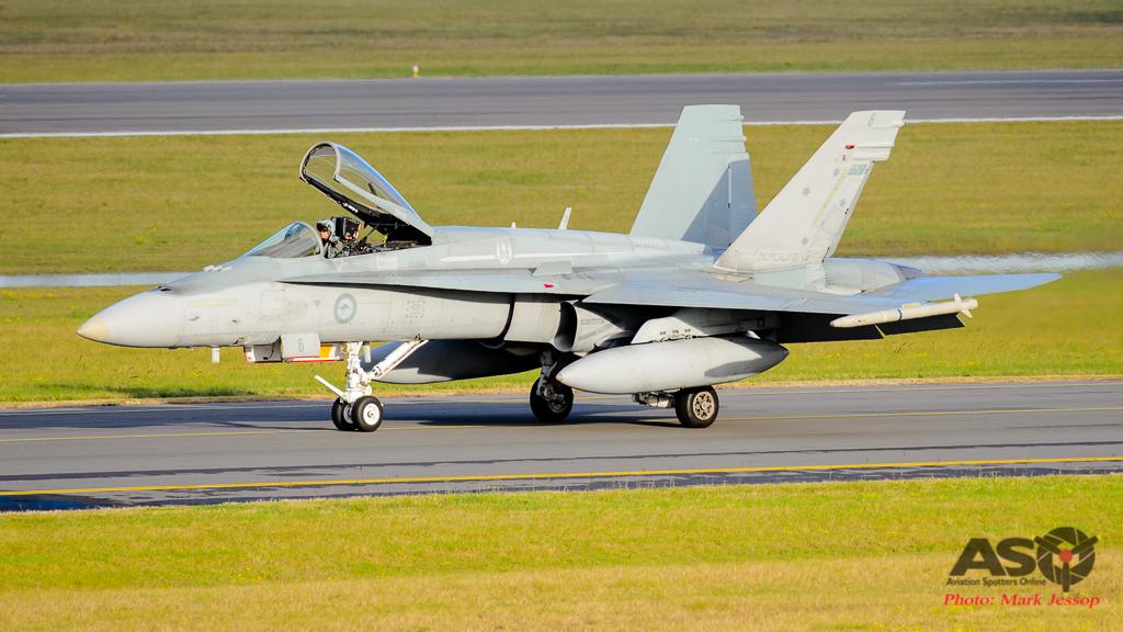 F/A-18A Hornet A21-6 3SQN