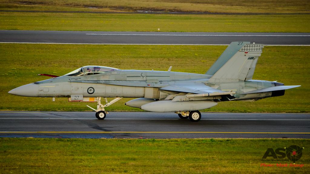 F/A-18A Hornet A21-27 75SQN
