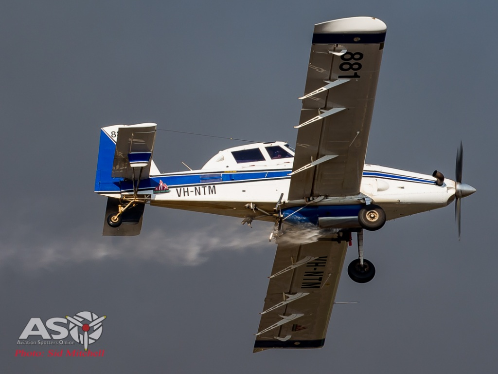 Airtractor 802 VH-NTM from Aerotech, N.T