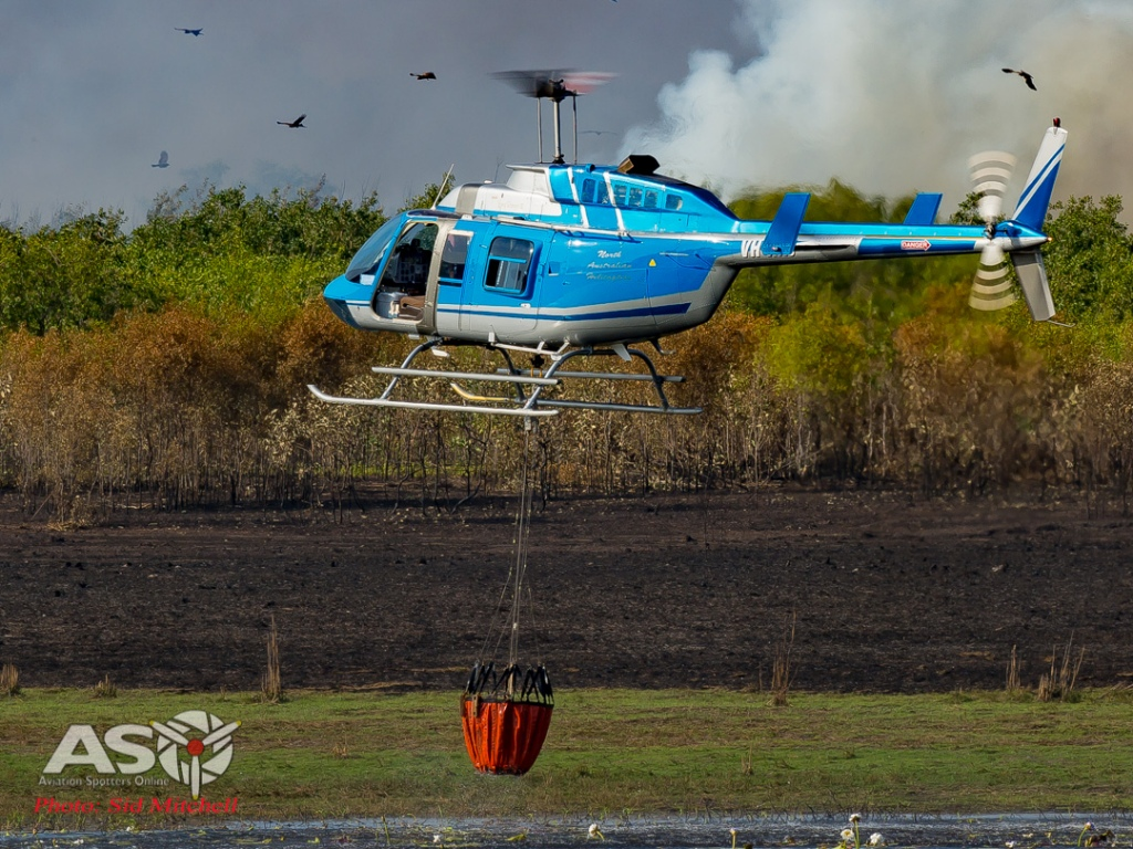 Bell 206 Longranger VH-XXJ from North Australia Helicopters