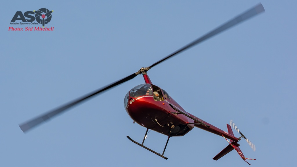Robinson R44 VH-RPQ - Fire boss from North Australia Helicopters