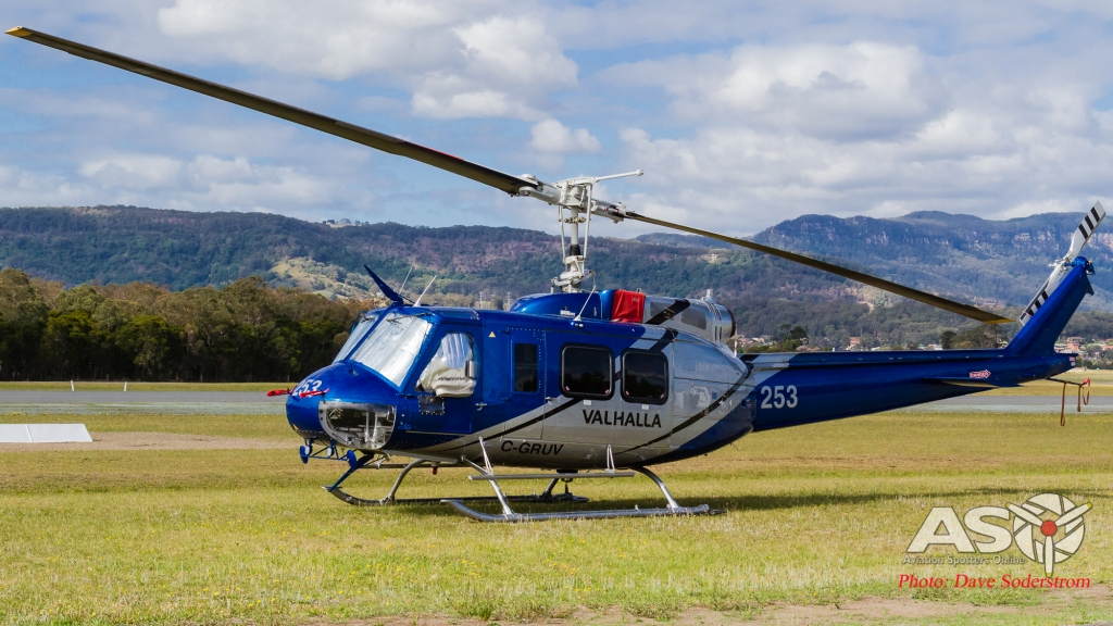 C-GRUV Valhalla Helicopters Bell 205 ASO (1 of 1)