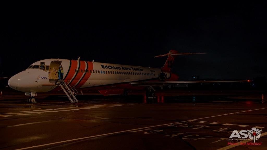 Erickson Aero tankers MD-87 N293EA