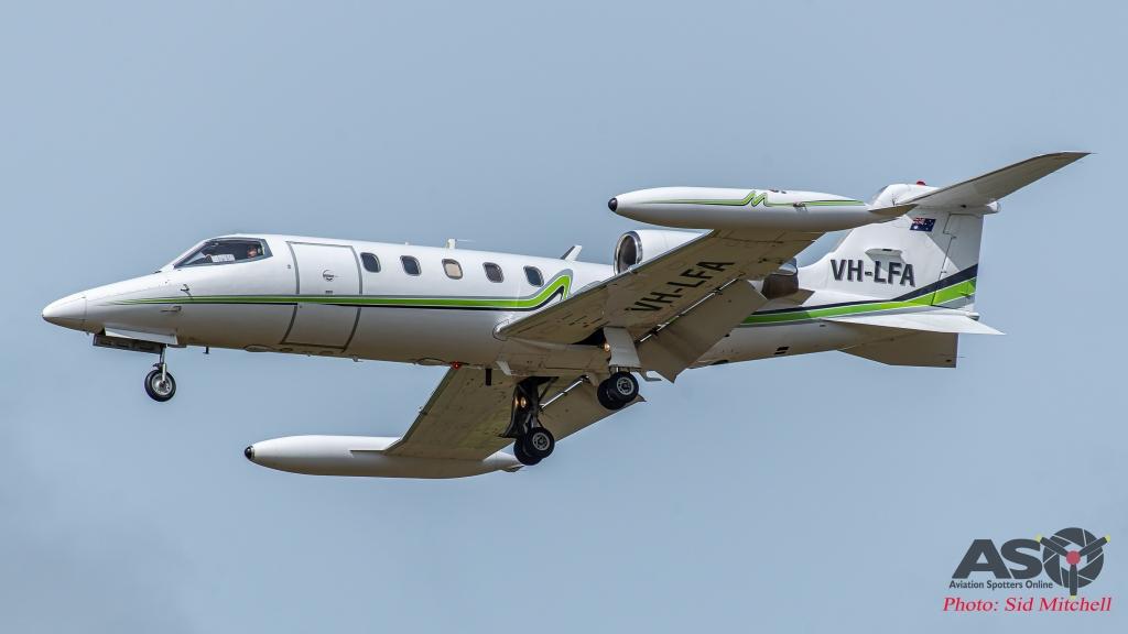 Air Affairs Learjet 35A VH-LFA