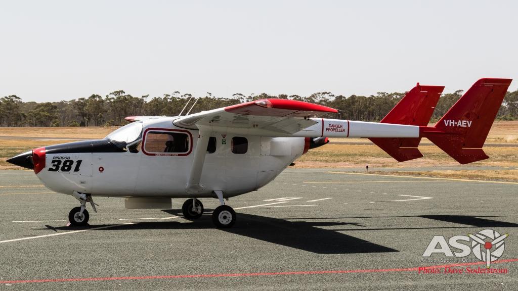 ASO VH-AEV Cessna 337  (1 of 1)