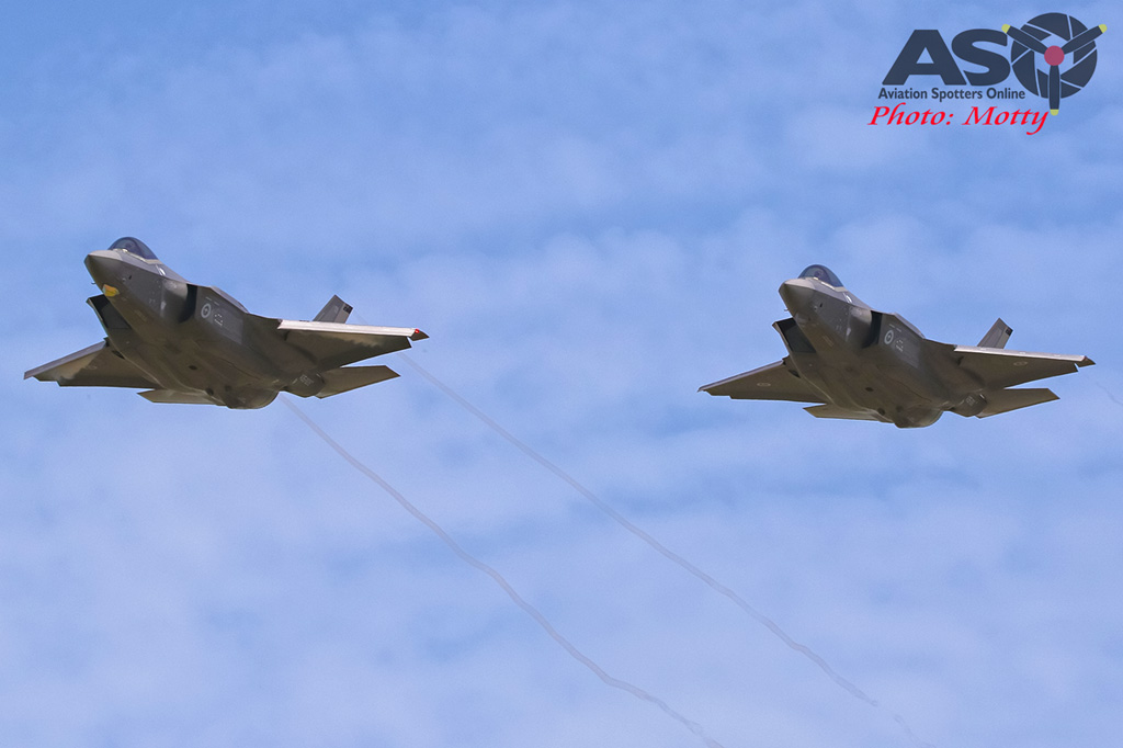 Mottys-First RAAF F-35 Arrivals at Williamtown-01464-ASO