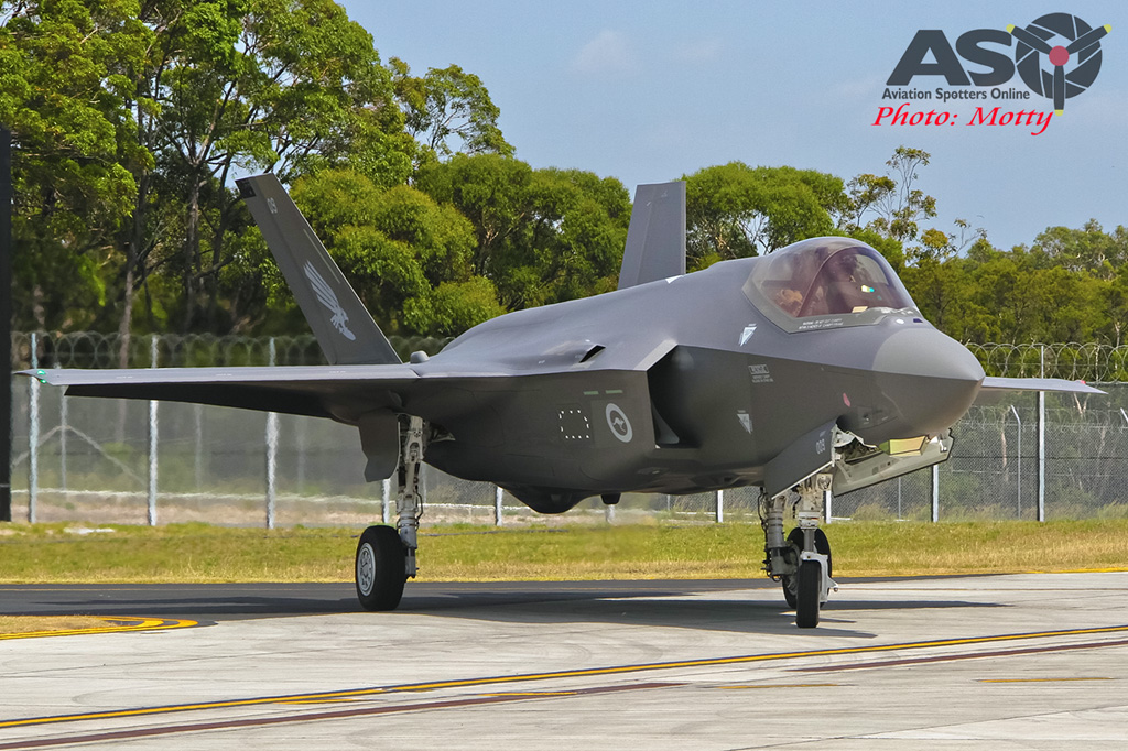 Mottys-First RAAF F-35 Arrivals at Williamtown-02274-ASO