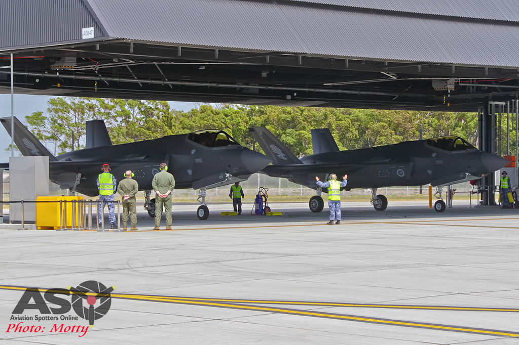 Mottys-First RAAF F-35 Arrivals at Williamtown-02419-ASO