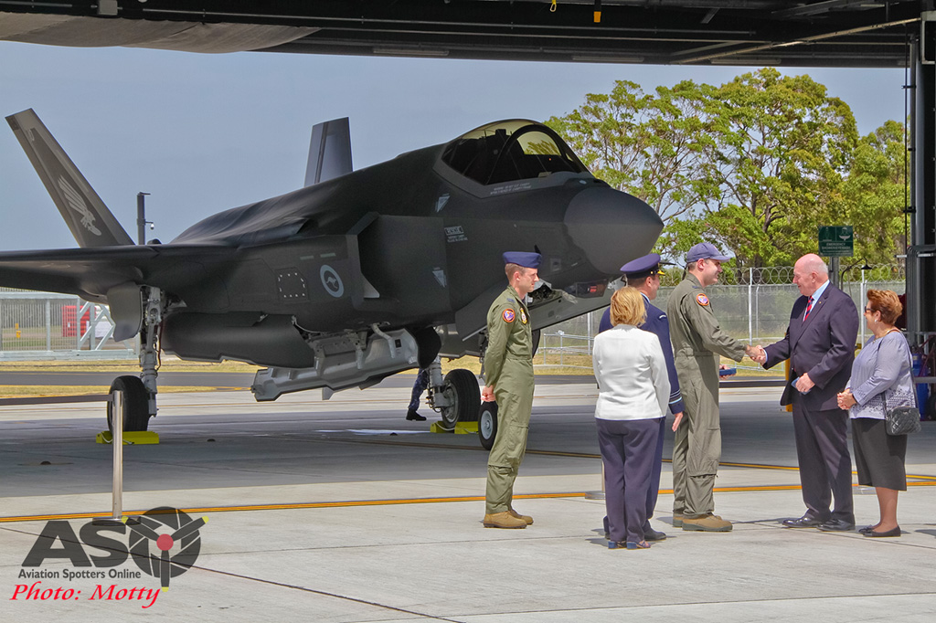 Mottys-First RAAF F-35 Arrivals at Williamtown-02662-ASO
