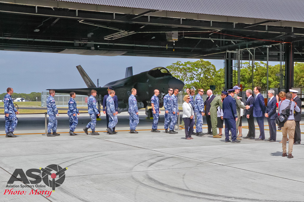 Mottys-First RAAF F-35 Arrivals at Williamtown-02684-ASO